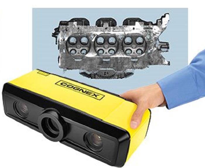 코그넥스가 출시한 고성능 3D 카메라 코그넥스 3D-A5000. (사진=코그넥스)