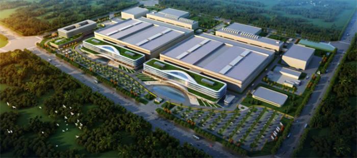 푸젠진화 반도체 공장 조감도(자료: 푸젠진화 홈페이지)