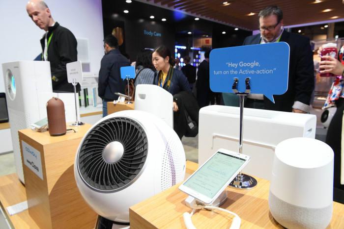 [CES 2019]'코웨이' 가정생활도 인공지능 커넥티드