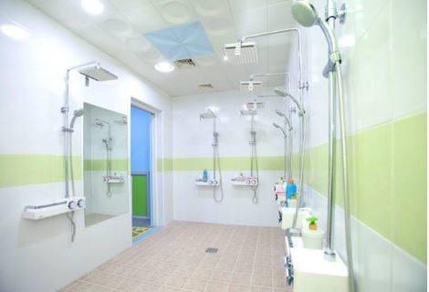 9층 남녀 샤워실