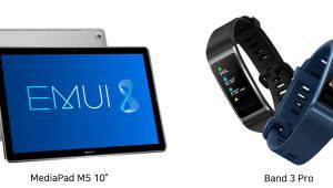 화웨이, 신형 태블릿·스마트밴드 국내 출시