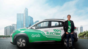 현대차-그랩 협력…'코나 일렉트릭', 싱가포르 차량호출 서비스 론칭