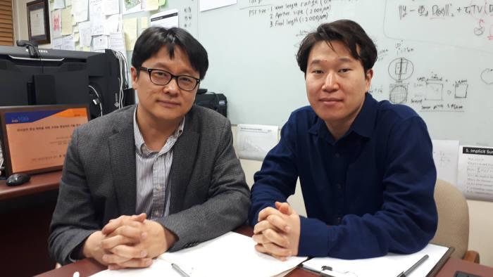 김민혁 KAIST 전산학부 교수(사진 왼쪽)와 남길주 박사과정(오른쪽)