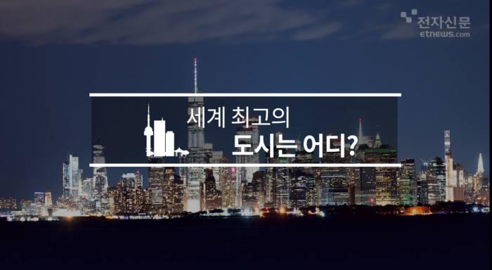 [모션그래픽]세계 최고의 도시는 어디