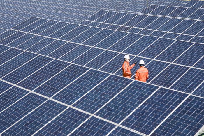 한화에너지 태양광발전소. [자료:한화에너지]