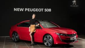 푸조 '뉴 508', 프리미엄 車 공략 시동…'年 1200대' 판매 목표