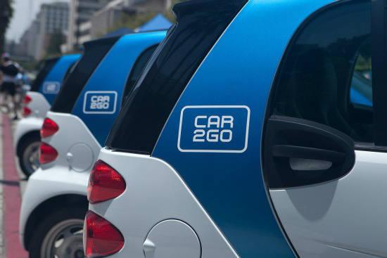 다임러 차량 공유 자회사 카투고(Car2Go) (제공=다임러그룹)
