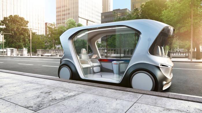 보쉬가 CES 2019에서 세계 최초로 선보이는 새로운 종류의 모빌리티를 위한 콘셉트 차량 (제공=보쉬코리아)