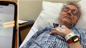 애플워치4, 60대 노인 생명을 구했다