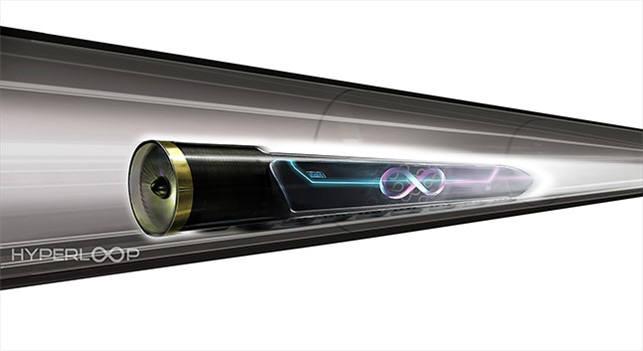 하이퍼루프는 진공에 가까운 튜브에 차량을 살짝 띄워 이동시킨다. (출처: 하이퍼루프 원 홈페이지)