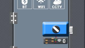 이컴정보통신, CCTV+센서+IoT 결합한 도어락 '캐치홈' 개발