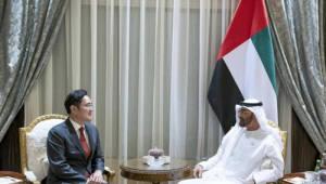이재용 삼성전자 부회장, 아부다비 UAE 왕세제와 회동…5G 등 협력 논의