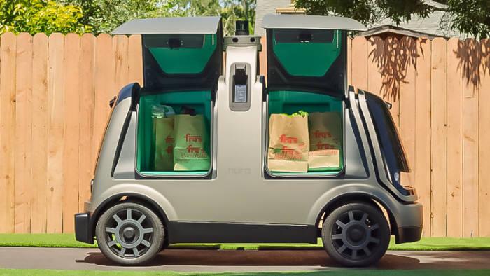 누로가 개발한 무인 배송 자동차 <출처: 누로 웹사이트>