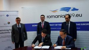 생산성본부, 루마니아 생산성본부 설립 지원