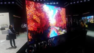 삼성전자, 2019년형 TV 98형 QLED까지 초대형 비중 확대...OLED와 격차 벌린다