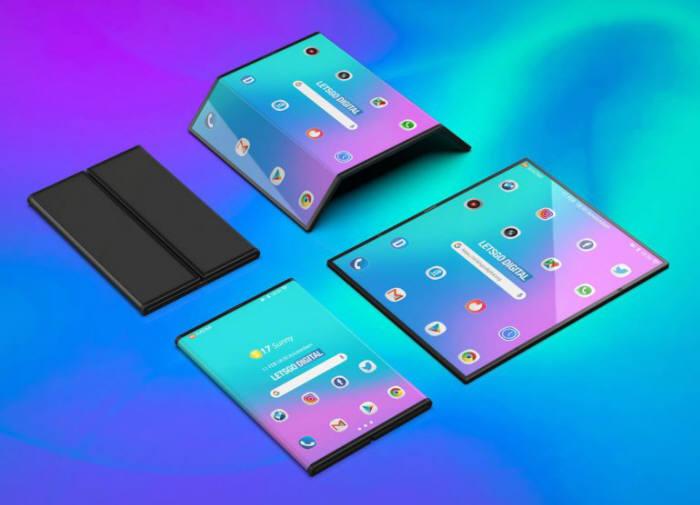 레츠고디지털은 12일(현지시간) 샤오미가 개발 중인 폴더블폰 3D 렌더링 이미지를 공개했다. 사진:레츠고디지털