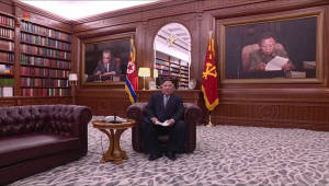"""니혼게이자이 신문 """"김정은 특별열차, 방탄 기능에 소형헬기 탑재"""""""