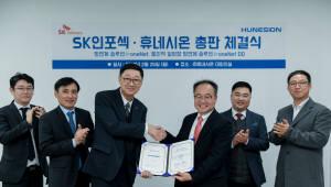 휴네시온, SK인포섹과 망 연계 솔루션 총판계약 체결