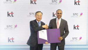KT, 사우디 STC와 통신, 신사업 협력 강화
