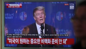 """청와대, """"북미 완전한 합의 못해 아쉬워…활발한 대화 지속 기대"""""""