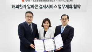 알파콘, 해외 의료관광 활성화 협약