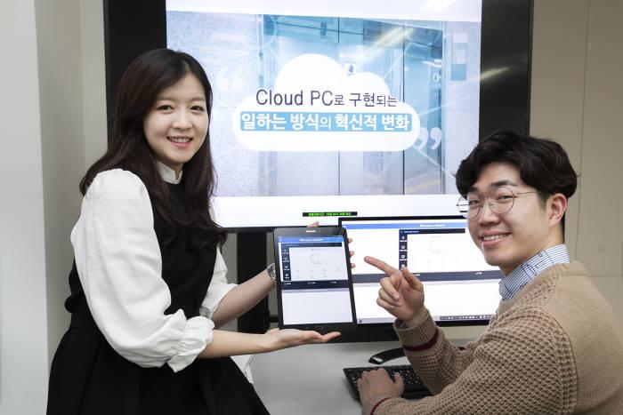 SK브로드밴드가 클라우드 PC 시장 진출을 선언했다.