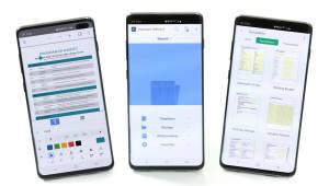 한컴, 삼성 갤럭시S10에 한컴오피스S 탑재