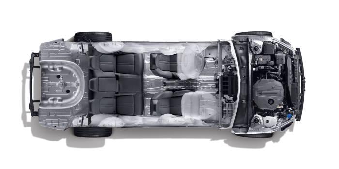현대차의 신형 쏘나타에 적용된 3세대 플랫폼은 충돌 안전도와 연료소비효율, 주행성능, 디자인 등 자동차의 기본 가치를 크게 높였다.