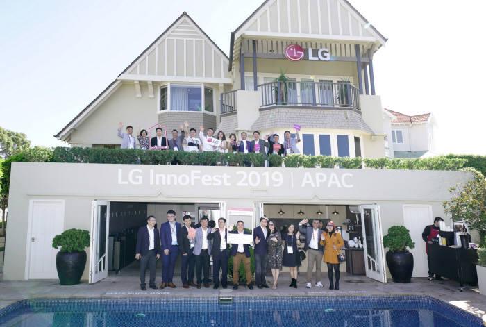 LG전자, 호주서 올해 첫 '이노페스트' 개최…생활공간속 프리미엄 가치 알려