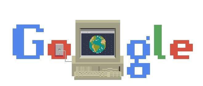2019년 3월 12일 월드와이드맵 30주년을 기념한 구글 로고