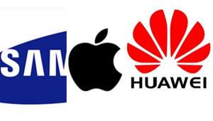 [국제]스마트폰 글로벌 매출 점유율, 삼성전자 20% 깨지고 화웨이 10%대 진입