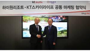 KT스카이라이프-하이원리조트, 공동 마케팅 업무협약 체결