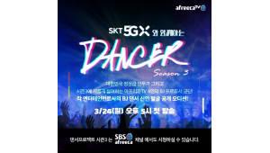 아프리카TV '댄서 프로젝트', SKT 5GX 만나 VR로!