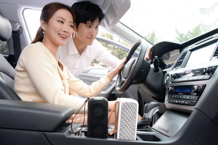 LG전자 '퓨리케어 미니' 출격…휴대용 공기청정기 시장 개척 나서