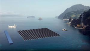 국내 첫 대규모 '해상 태양광' 뜬다…민관 270억 투입