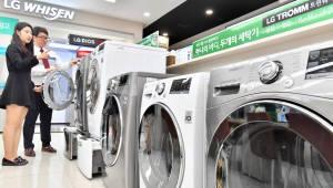 美 세탁기 세이프가드 1년…평가 상위권 LG전자 싹쓸이