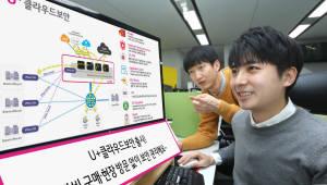 LG유플러스, 기업용 클라우드 보안 서비스 출시