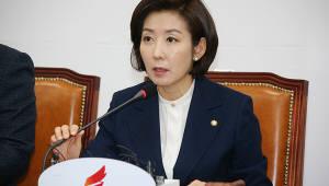 """나경원 """"3월 국회서 '소득주도성장 폐지 3법' 처리해야"""""""