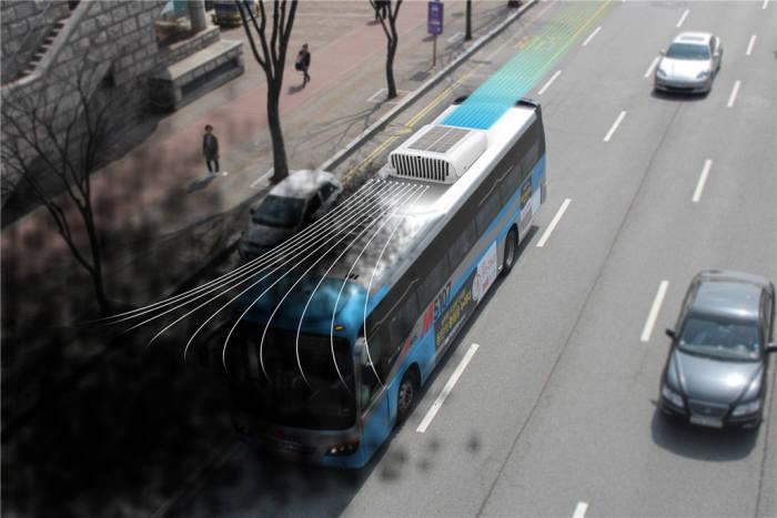 퓨어에코텍 차량탑재형 공기정화기 먼지고래 설치 조감도. [자료:퓨어에코텍]