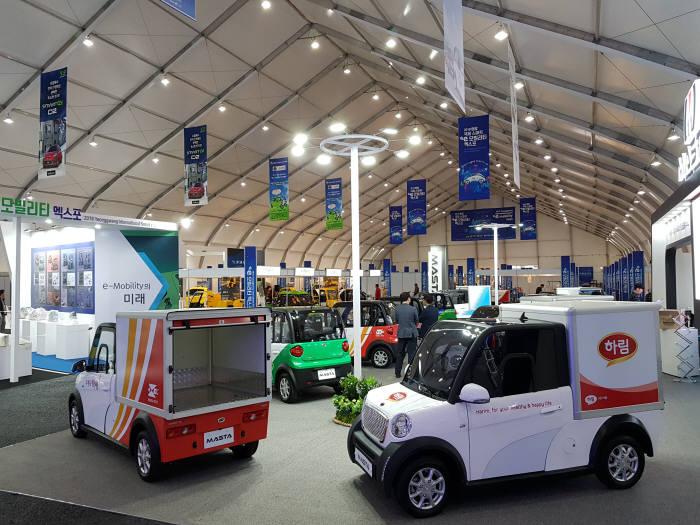 전남 영광군은 e-모빌리티 도시로서 입지를 확보하기 위해 지난해 `국제스마트 e모빌리티 엑스포를 첫 개최하는 등 초소형 전기차 대중화에 공을 기울이고 있다.