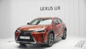 렉서스, UX로 하이브리드 SUV 풀라인업 구축…'벤츠·BMW'에 도전장