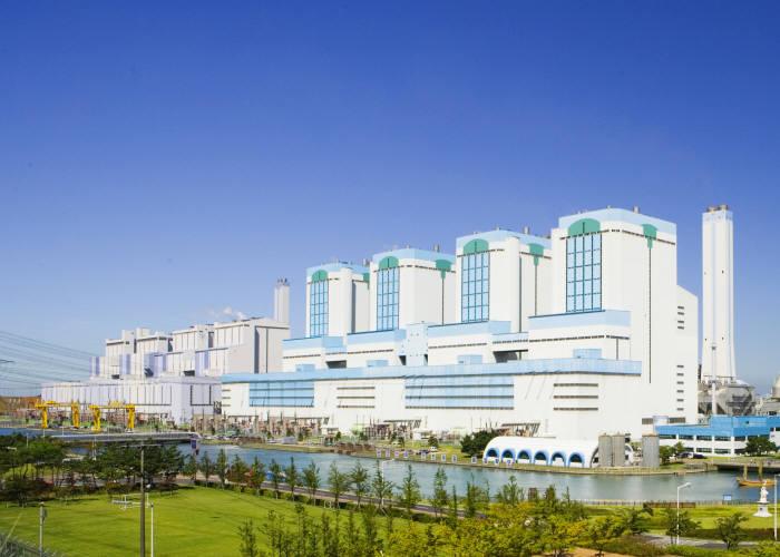 한국동서발전이 운영하는 당진화력발전소.