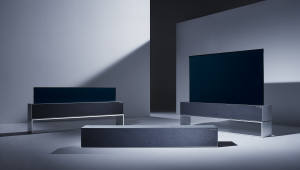'LG 시그니처 올레드 TV R', 밀라노서 디자인 위크서 '공간 혁신' 선보여