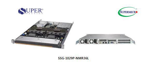 슈퍼솔루션이 공급하는 슈퍼마이크로 SSG-1029P-NMR36L 스토리지 서버.