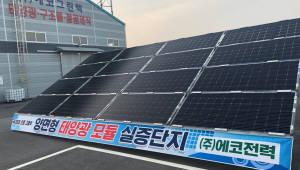 에코전력 '노프레임 양면형 태양광 모듈' 출시…전력량 최대 30% 증가