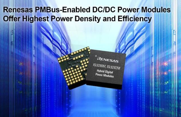 일 르네사스, 하이브리드 DC/DC 파워모듈 2종 발표