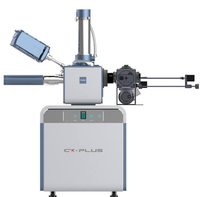 상용화된 대기 비개방 통합형 주사전현미경