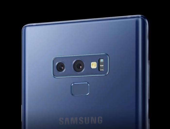 갤럭시노트9에 적용된 듀얼 카메라. 올해 나올 신형 노트에는 트리플 카메라, 쿼드카메라가 탑재될 전망이다.