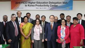 인도 정부·교육기관 연수단, 한국생산성본부 방문