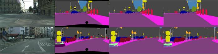 거리 영상을 이용한 경계 분석 알고리즘 적용 결과